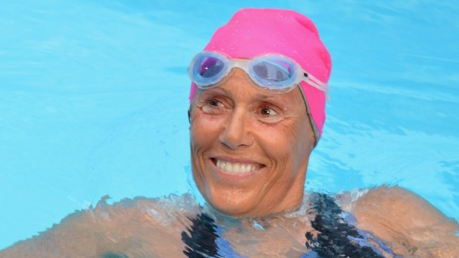 A Celebrated Swimmer in Person: A Night With Nyad