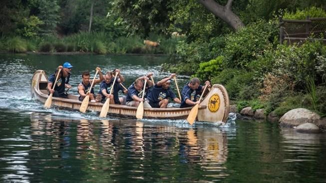 Happy 50th, Disneyland Cast Canoe Races