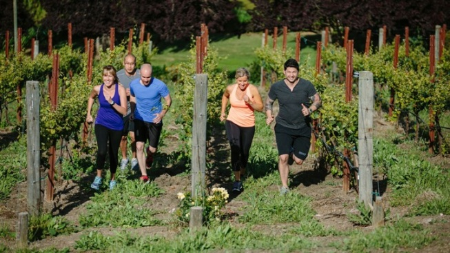 Brut-camp: Work Out at Domaine Carneros
