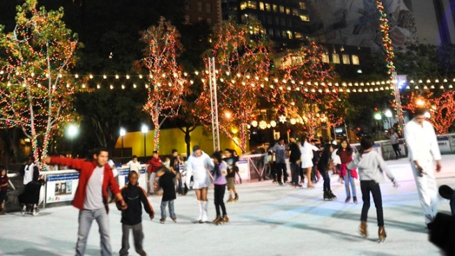 Ice Rinks, Ahoy: Pershing Square on Cold Approach