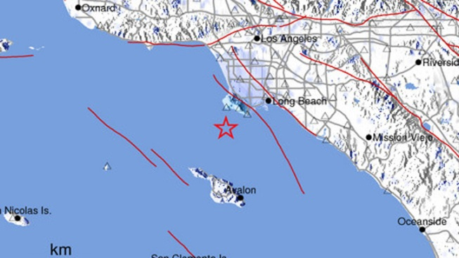 Morning Earthquake Reported Off SoCal Coast