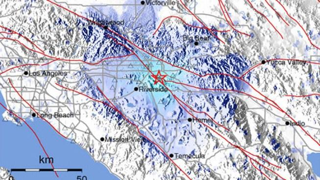 3.6 Quake Hits Loma Linda