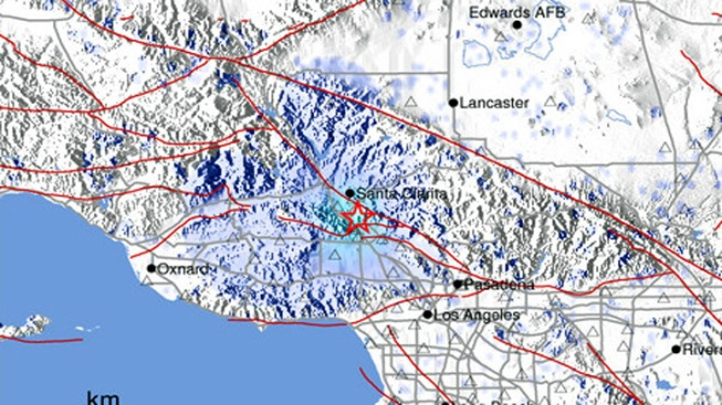 Earthquake Shakes Newhall Area Early Friday