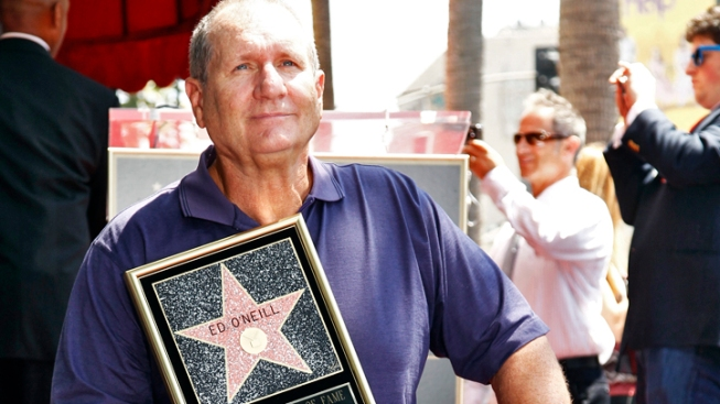Ed O'Neill Gets a Star on the Hollywood Walk of Fame