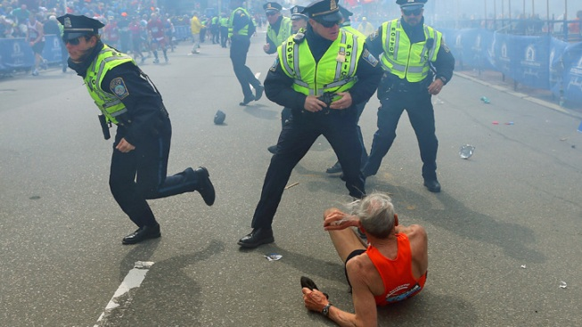 "78-Year-Old Runner Knocked Down by Boston Blast: It Was a ""Close One"""