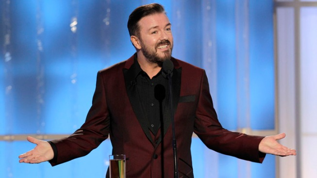Golden Globes: Host Ricky Gervais' Most Outrageous Hollywood Jokes