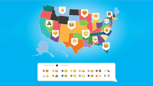 california s top emoji choice is not surprisingly blessed nbc