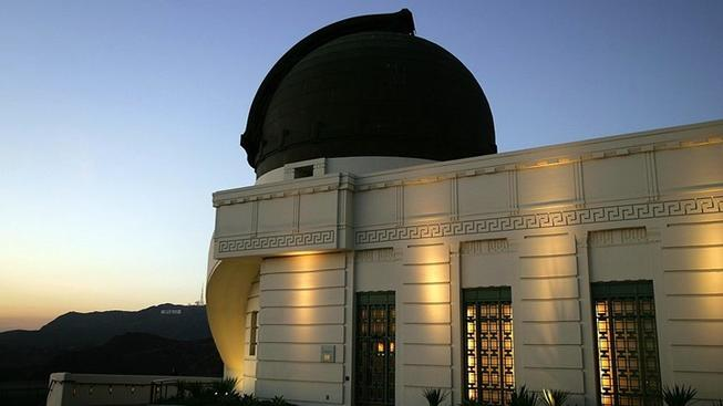 Griffith Observatory: Winter Solstice + Apollo 8 Day