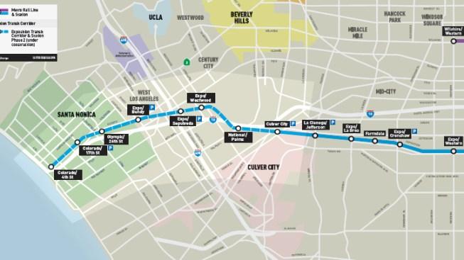 Expo Line: Portion of Colorado Ave. to Close in Santa Monica