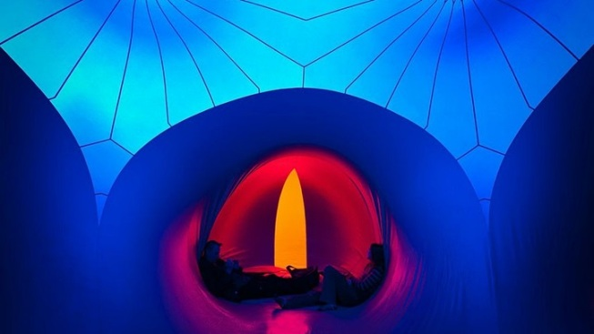 Exxopolis: The Free, Color-Saturated Inflatable Walk-Through Sculpture