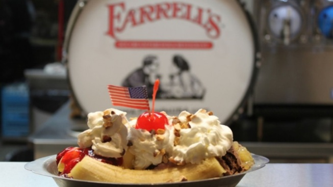 Farrell's Ice Cream Hosts a Yard Sale