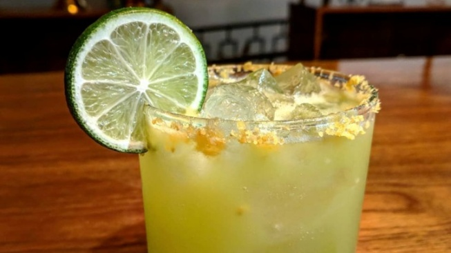 Sip a Margarita with a Fritos-Crusted Rim