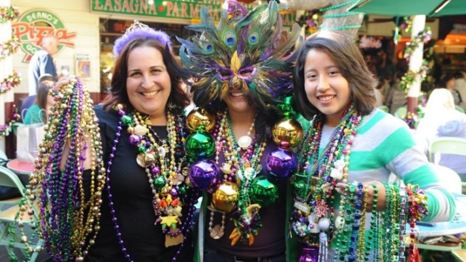 Mardi Gras Kick-Off at Farmers Market