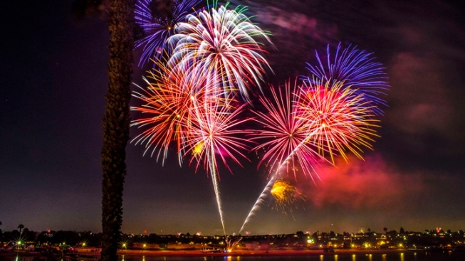 SoCal Sparkle: Fourth of July Fireworks