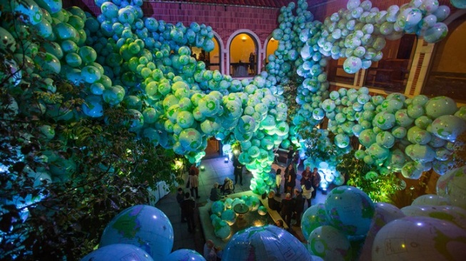 One Museum, 7,000 Inflatable Worlds