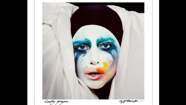 """Lady Gaga Reveals Cover Art for Upcoming Single """"Applause"""""""
