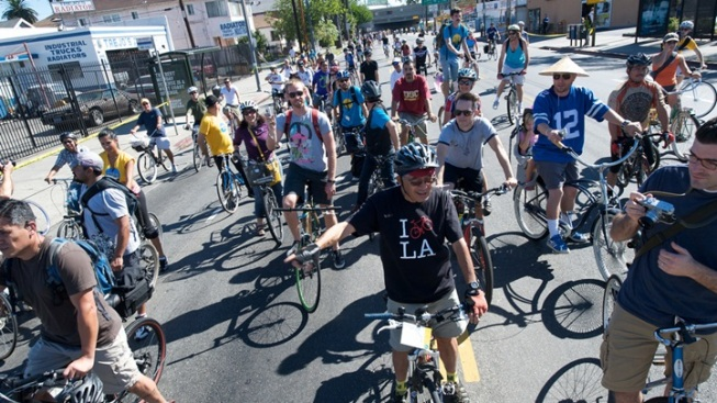100K+ Cyclists: CicLAvia Pedals for South LA