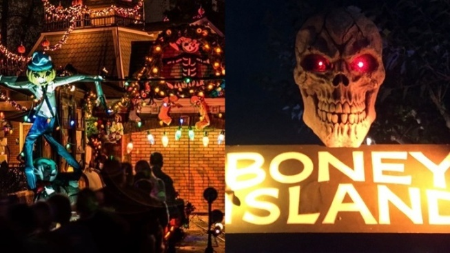 Ghost Train + Boney Island Scare, er, Pair Up
