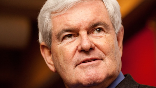 Polling Uptick Earns Gingrich Some Late Night Jokes