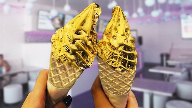 Things to Do This Week: Try 24Karat Ice Cream