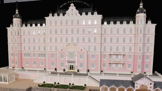 On Display: The Grand Budapest Hotel Model