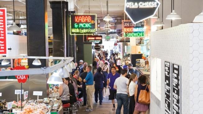 Grand Central Market, Draped in Yarn