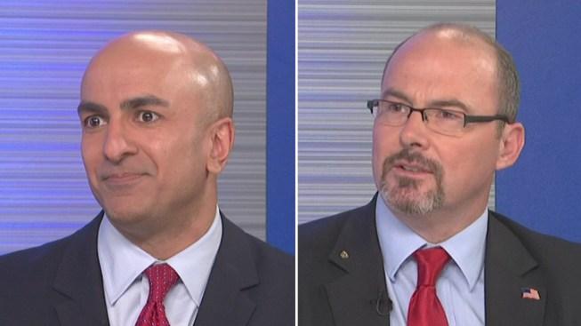 GOP Gubernatorial Candidates Neel Kashkari, Tim Donnelly Fight to Unseat Gov. Jerry Brown