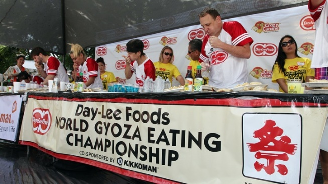 Savory Showdown: Gyoza-Eating Championship