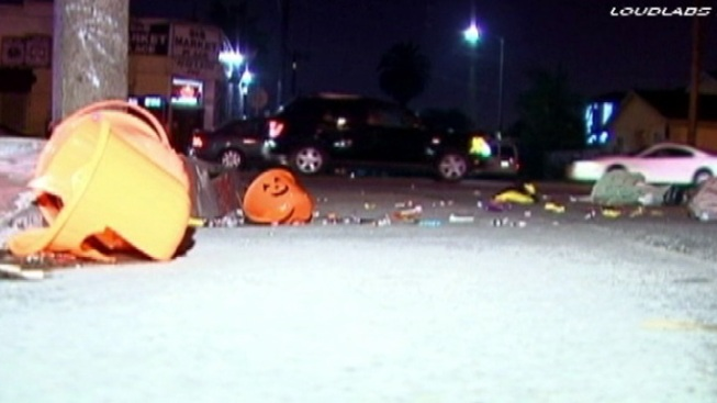 Boy, Woman Hospitalized in Watts Halloween Hit-and-Run