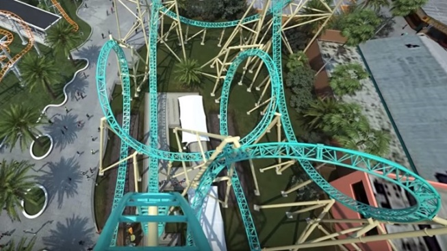 Take a POV Ride on the 2018 Knott's Coaster