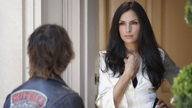 "Famke Janssen and the Horror of ""Hemlock Grove"""