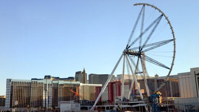World's Largest Ferris Wheel Nears Completion in Las Vegas
