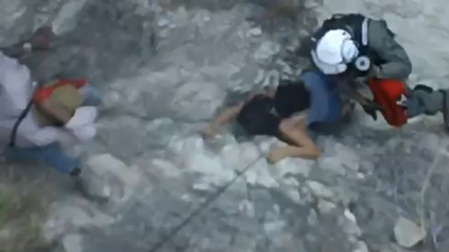 Hiker Rescue Video Released