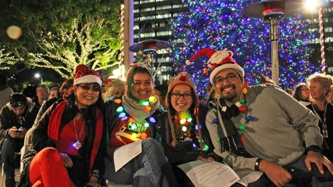 Free: Music Center Holiday Sing-Along