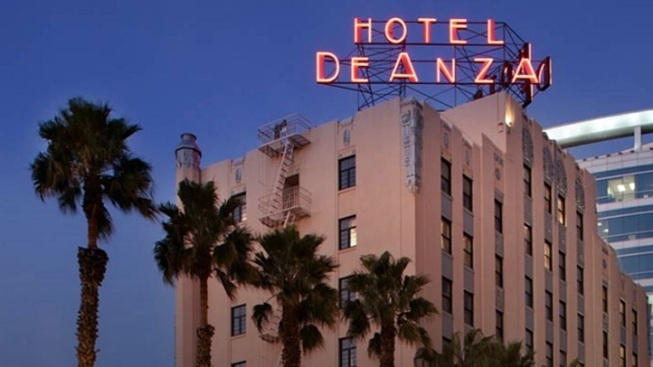 San Jose Landmark: Hotel De Anza's Refresh
