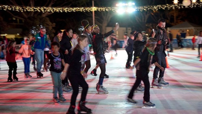Seasonal Ice Rinks on the Rollout