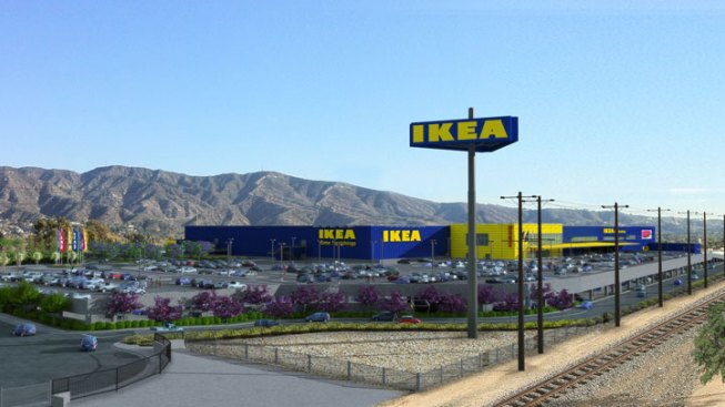 new ikea in burbank would be one of largest in u s nbc southern california. Black Bedroom Furniture Sets. Home Design Ideas