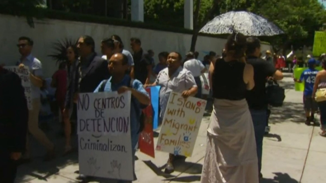 "Activists Rally Against President Obama's ""Fast Track"" Plan for Deportation"