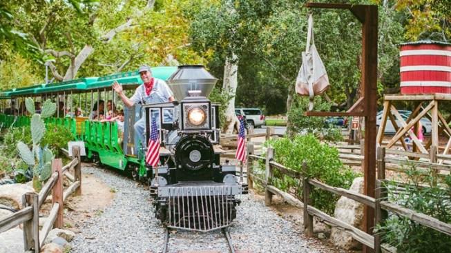 Happy 20th, Irvine Park Railroad