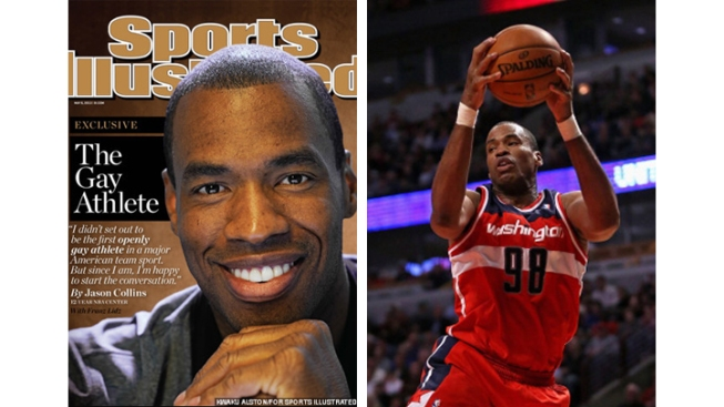 Jason Collins Talks Obama's Support, Gets Congratulations From Ellen DeGeneres