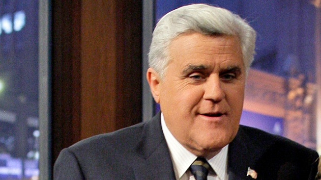 "Jay Leno Ribs Romney on ""Tonight Show"""
