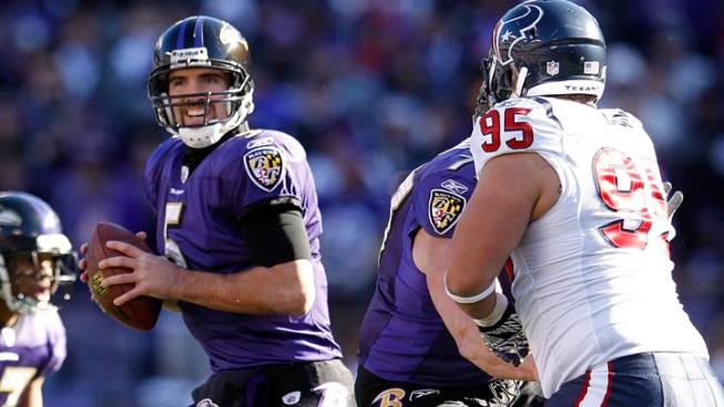 The Ravens Problem: Joe Flacco Isn't Getting Any Better