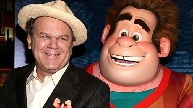 "John C. Reilly Goes for the High-Score in ""Wreck-It-Ralph"""
