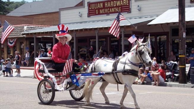Julian's Main Street Fourth of July Parade