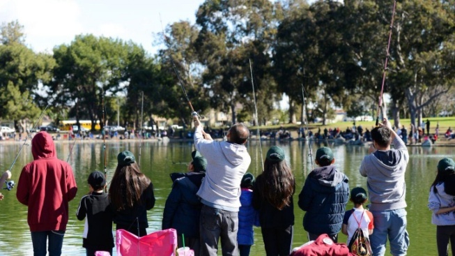 Free Kids' Fishing Derby Casts a Line in Fountain Valley