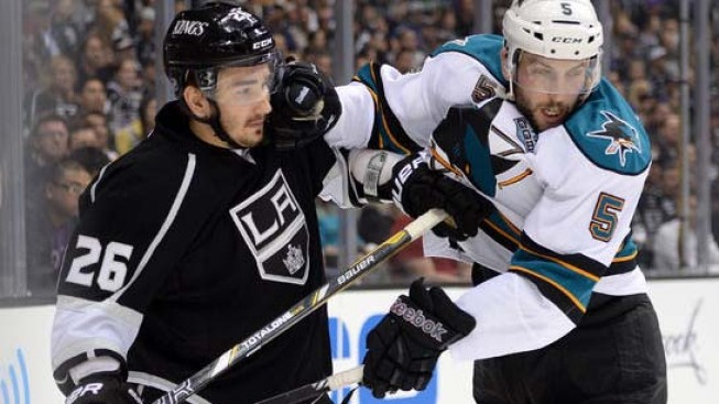 Kopitar's Goal Lifts Kings to 3-2 Series Lead Over Sharks