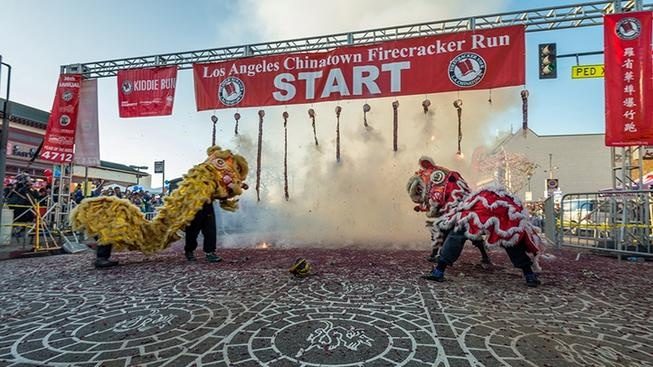 100K Firecrackers to Pop at Beloved Chinatown Run