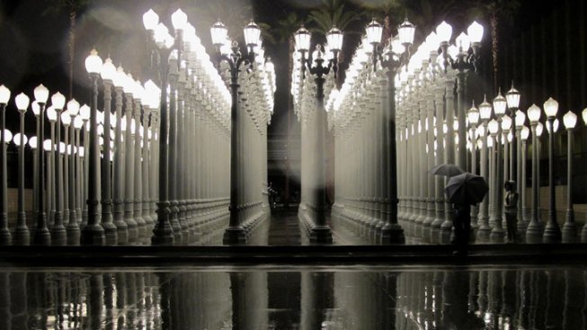 Lacma Urban Light Artist Chris Burden Dies Nbc Southern California