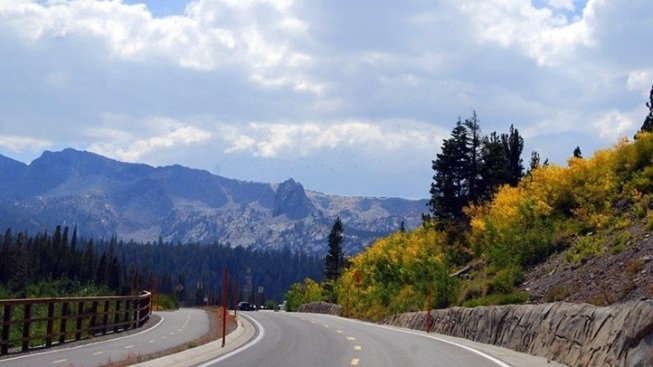 Autumn + Autos: Mono County Fall Drives