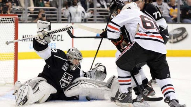 Kings Draw Blackhawks in Western Conference Finals